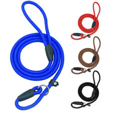 10pcs/lot Dog Slip Leash Walk Collar Pet Training P-leash for Small to Large Dog