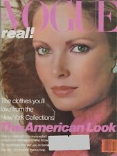 VOGUE FEBRUARY 1979 GIA CARANGI JACLYN SMITH COLLECTIONS EVA VOORHIS CHRISTIE B