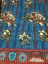 "90s vtg Small Soldiers comforter blanket 1998 twin full 84"" x 60"" movie action"