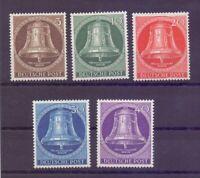 Berlin 1953 - Glocke Mitte - MiNr.101/105 postfrisch** - Michel 90,00 € (947)