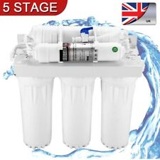 5 Stage Under Sink Drinking Water Filter Purifier System With Tap Accessories