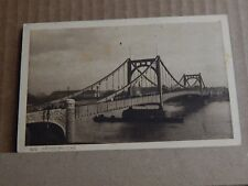 Postcard WW1 German Occupation Hangebrucke Cologne Censor Stamp Soldier Message