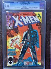 X-MEN #203 CGC NM/MT 9.8; White pg!; Secret Wars II tie-in!