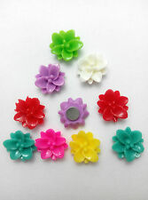 10 x Small Lily, Daisy Flower Charm (10mm) Fridge memo,decor strong magnets,Gift