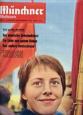 MÜNCHNER ILLUSTRIERTE, Nr. 48_1959, Cover FDJ-Mädchen DDR; Wiener Mädchen
