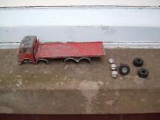 SPOT ON TRIANG  AEC MAJOR SCALE 1/42 LORRY 4 RESTORATION NEEDS WHEELS & AXLES