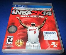 NBA 2K14 - Super Fan Pack Sony PlayStation 3 *New-Sealed-Free Shipping!