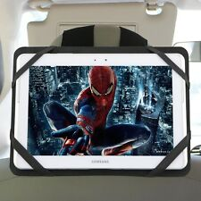 """Car Seat Headrest Mounting Strap Case for 10"""" Tablets Samsung 9.7"""" iPad 1st ePad"""