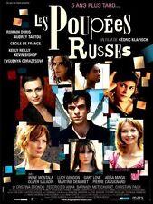 Affiche 120x160cm LES POUPÉES RUSSES (2004) Klapisch - Romain Duris, Tautou TBE
