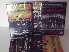 The Expendables dvd Collection 1,2 & 3 /Bundle/Joblot/Jet li/Statham/Stallone
