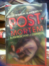 POSTMORTEM by Patricia Cornwell 1st ed 1st printing  SIGNED
