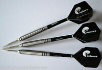 POWER PLAY 90% TUNGSTEN DARTS SET UNICORN FLIGHTS  STEMS 25g