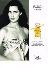PUBLICITE ADVERTISING  1993    HERMES   CALECHE   soie de parfum