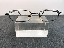 CARAVELLE Bulova Authentic 50/18 140 Black Metal Eyeglasses 4613