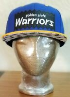 BAIT x Mitchell And Ness Golden State Warriors Basketball Snapback Hat Cap