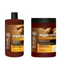 Hair Shampoo and Mask Rebulding Hair Structure with Argan Oil 1000 ml Dr Sante