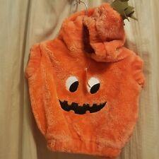 Baby Pumpkin Jack O Lantern Halloween Costume Childrens Place 6-12 mos Hood