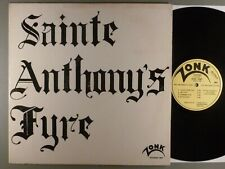 Sainte Anthony's Fyre  Self-Titled   RARE!! Zonk Private Hard Psych; Blues Rock