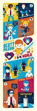 Scott Pilgrim vs. The World Dave Perillo Not Mondo Video Game Comic Poster print