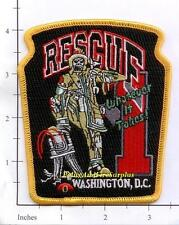 Washington DC - Rescue 1 District of Columbia Fire Dept Patch