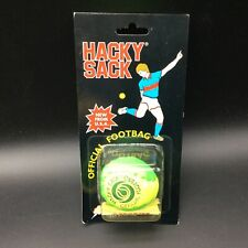 VINTAGE# HACKY SACK VINTAGE OFFICIAL FOOTBAG YELLOW #SEALED [CH]