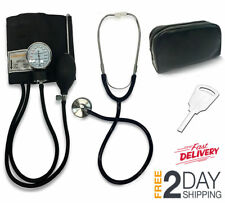 Kit de Presion Arterial para Adultos Incluye Esfigmomanometro con Estetoscopio
