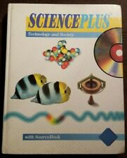 Science Plus Technology And Society Text Book Level Blue Ex-Library 1996