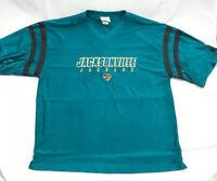 Vintage NFL Jacksonville Jaguars 🐆 BLANK Jersey Size Mens XLarge