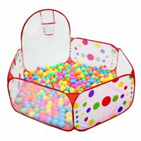 Ball Soft Plastic Ocean Ball Fashion Baby Kids Swim Pit-Pool*Toys 1.2M Colorful
