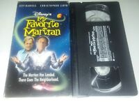 My Favorite Martian Vhs Original Disney Release in Excellent Condition