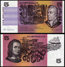 Australia 5 DOLLARI Knight & Wheeler (P44b1) N. D. (1974) UNC