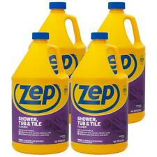ZEP Shower Tub Tile Cleaner Liquid Formula Household Cleaning 1 Gallon Case of 4