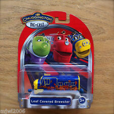 CHUGGINGTON Diecast LEAF COVERED BREWSTER train TOMY Learning Curve series engin