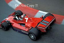 John Watson Martini Brabham BT45 Monaco Grand Prix 1977 Photograph 2
