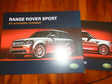 Range Rover Sport Stomer Accessories Pack brochure 2006 Italian text