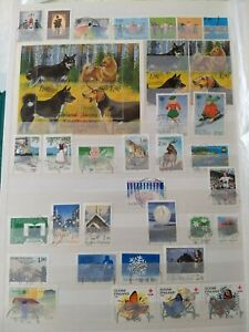 Finland Used Stamps - 200 Different Many Full Sets Exquisite Round Cancellation