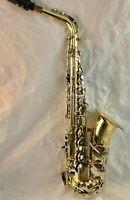 Beautiful Yamaha YAS-200AD Advantage Eb Alto Saxophone Sax, ready to play!!