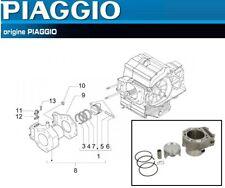 Kit Cylindre Pistons Segments Axe d'origine Aprilia Atlantic Scarabeo 400