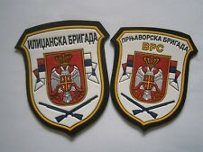 ILIDZA PRNJAVOR BRIGADE PATCH ARMY EMBLEM BOSNIA SERBIA MILITARY corps VRS