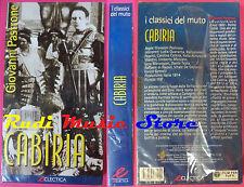 VHS film CABIRIA Giovanni Pastrone 1999 SIGILLATA ECLECTICA (F87) no dvd