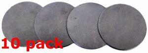 "2 3/4"" Dia Flat Metal Plate Disc Round .0478"" Thickness STEEL 18 gauge Blank DP2"