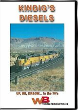 KINDIG'S DIESELS UNION PACIFIC E8 F9 CENTENNIALS DD35 U50C WB VIDEO PRODUCTIONS