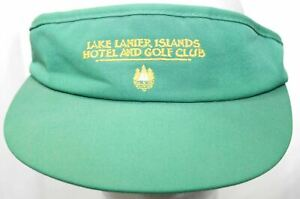 Vintage Lake Lanier Islands Hotel & Golf Club Visor Town Talk Hat Georgia Resort