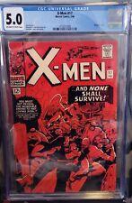 X-MEN #17 (Jack Kirby, Magneto) CGC 5.0 FN-Looks Nicer!! 1966 ---Buy ME!!!!!