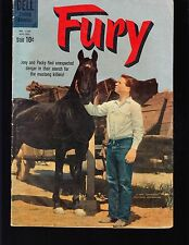 4-COLOR  FURY  #1133 DELL 1960 VG  MOVIE/TV...PHOTO-c JOEY AND PACKY