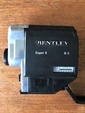 Bentley Super 8 Movie Camera B-3 Vintage