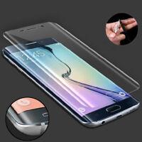 Samsung Galaxy S6 Edge Panzerfolie Full Cover 3D Display Schutzfolie SIEHE VIDEO