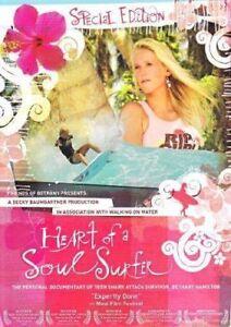 Heart Of A Soul Surfer DVD Girl Surfer Documentary Bethany Hamilton SHARK VICTIM