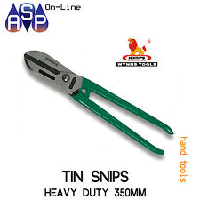 WYNN'S TIN IRON STEEL SNIPS HEAVY DUTY 350MM - CHROMIUM VANADIUM STEEL - W6014A