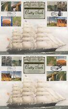 More details for (74890) gb / australia benham fdc x2 world heritage large